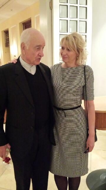 Armin Mueller-Stahl und Marina Zollmann, Galerie Kunstraum