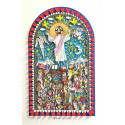 James Rizzi 3D / Jesus is life