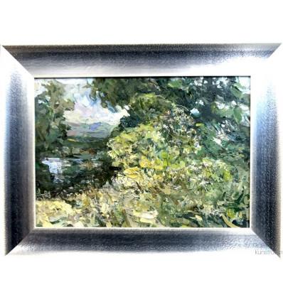 Landschaft 2/ Galerierahmung