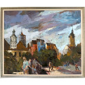 Alexej Tretjakow / Jena - Blick vom Markt / gerahmt