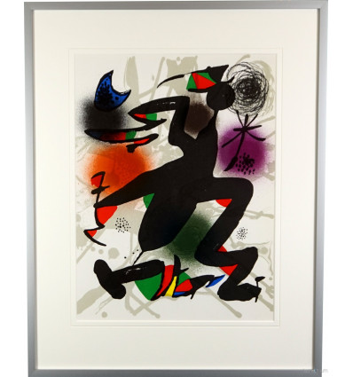 Joan Miró/ Litografia IV/ Galerierahmung