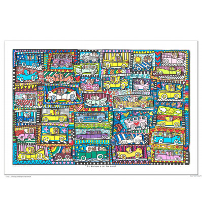 James Rizzi 3D / The romance of the roas