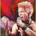 Switlana Liachowezki /Rebel Yell -  Billy Idol / UNIKAT, handsigniert