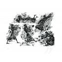 Günter Grass / Bilderbogen III  / handsigniert