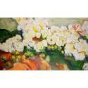 Alexej Tretjakow / Blumen mit Äpfel (sehr groß)
